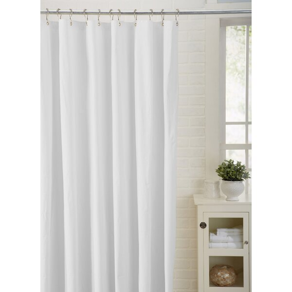 Spa Bath Works Mildew Resistant 100% PEVA Shower Curtain Liner by Home Fashion Designs